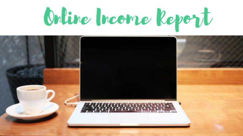 My First Quarter Online Income Updates